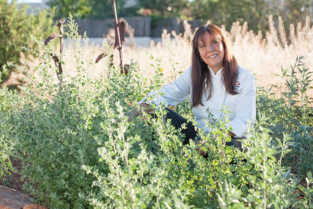 head shot Lois Ellen Frank chef and Native American food historian