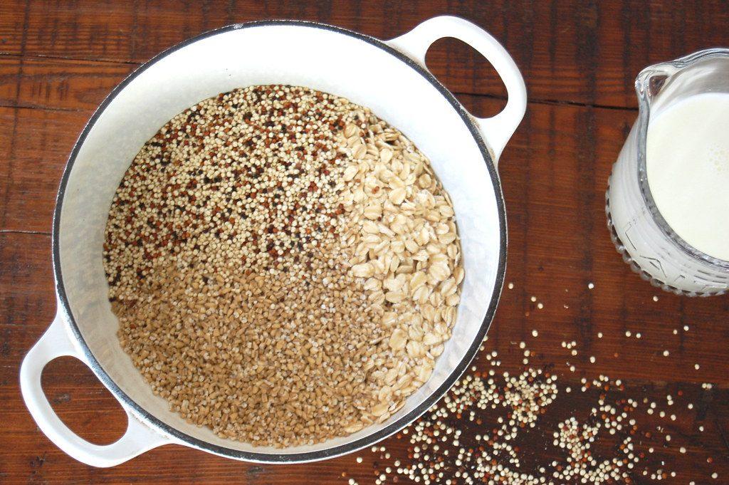 Breakfast Multigrain English Porridge Oatmeal