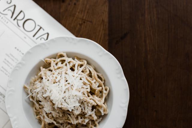 via carota pasta and cheese west village