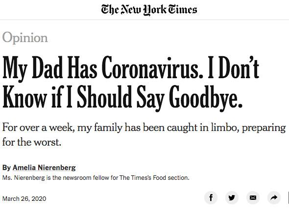 NYTimes Amelia Nierenberg Op-Ed