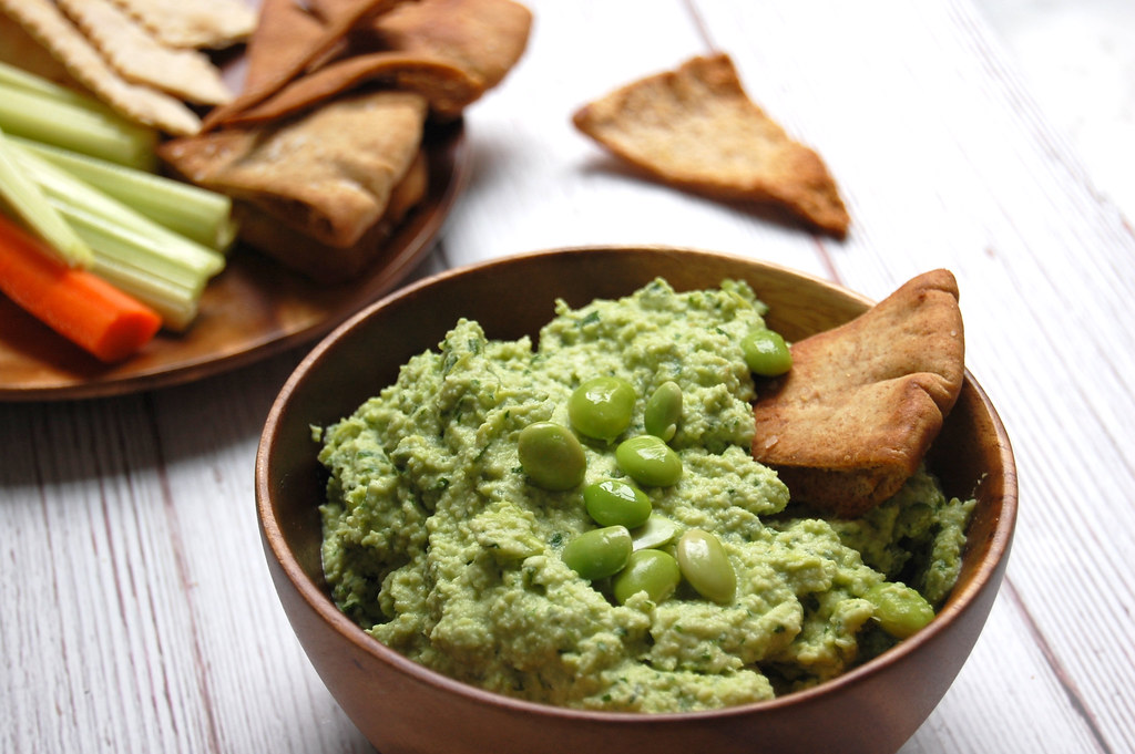 Edamame and Parsley Hummus