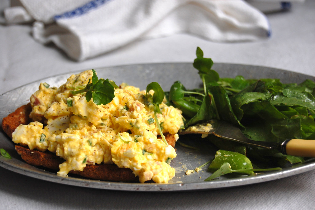 Egg Salad With Fresh Herbs