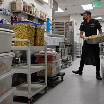 Catalyst kitchens food worker