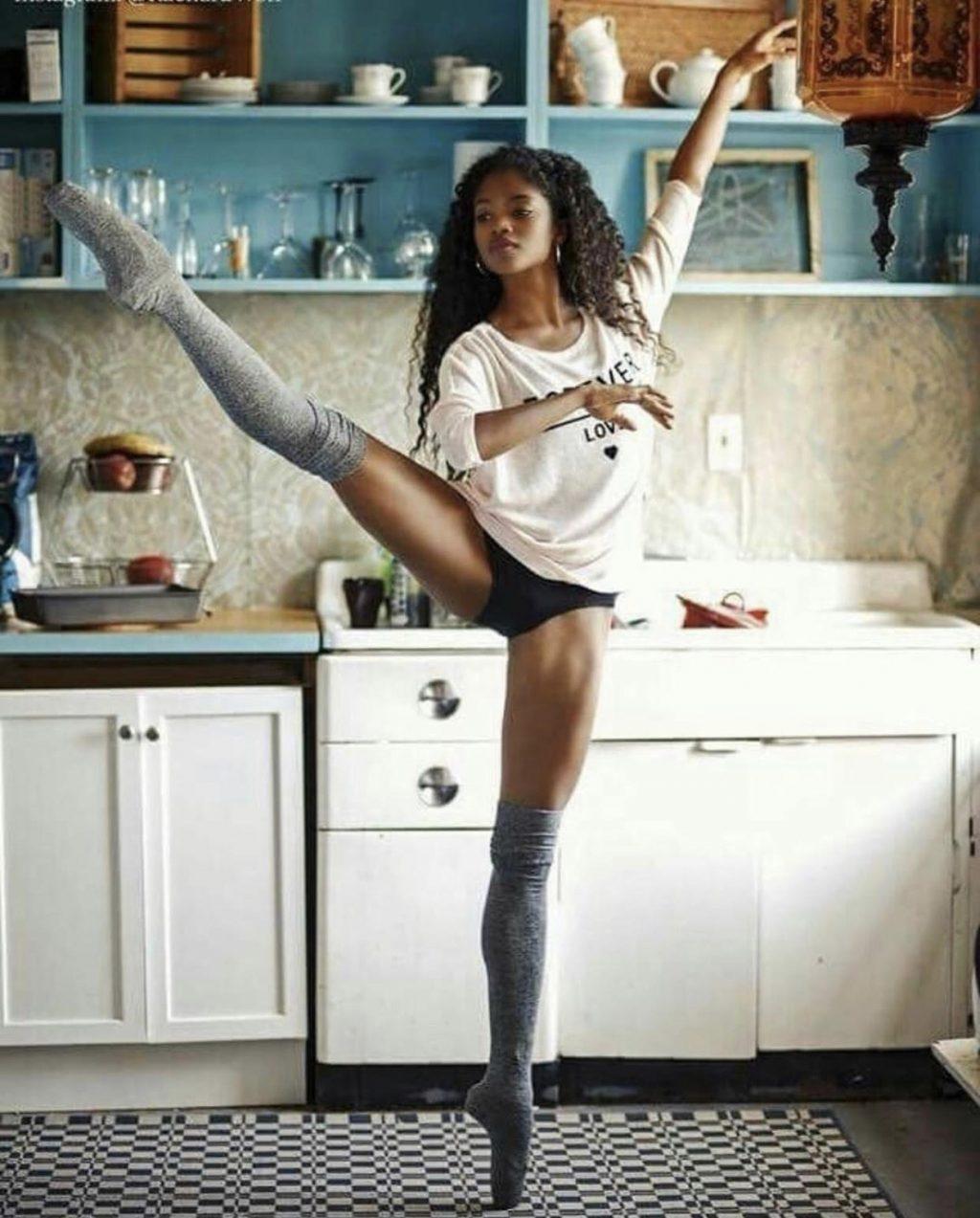 nardia boodoo in kitchen