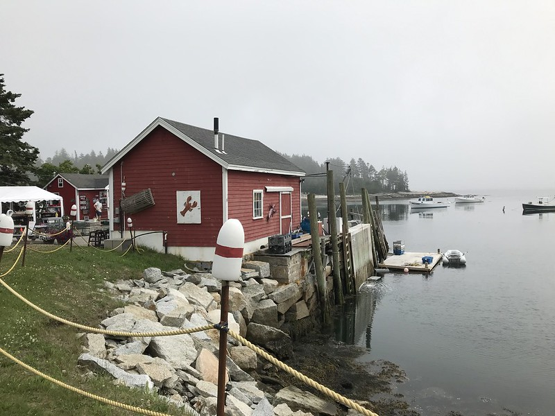 mcloon's lobster shack maine dining on harbor