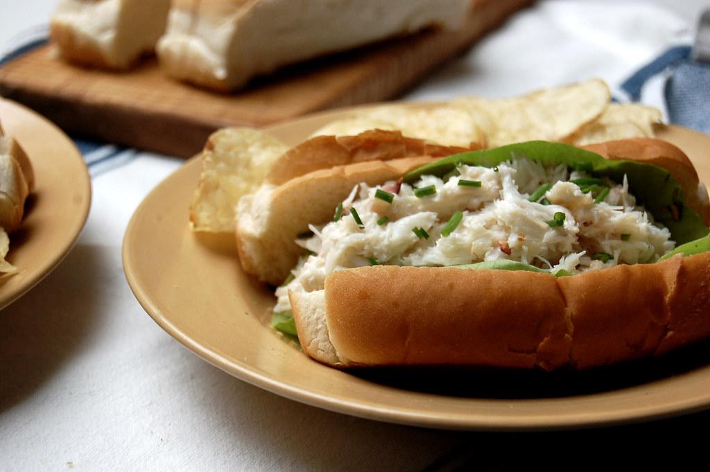 New England Crab Rolls