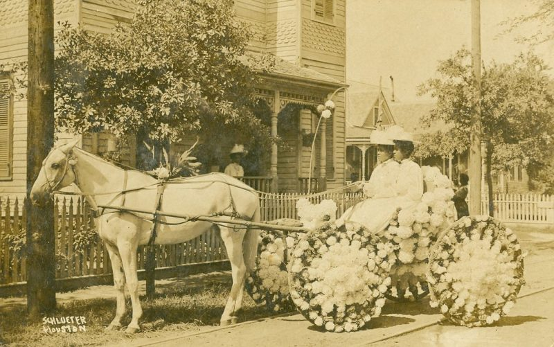 juneteenth 1908 women in buggies