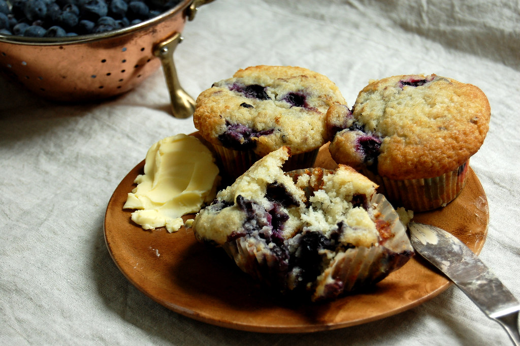 Our Favorite Blueberry Muffins