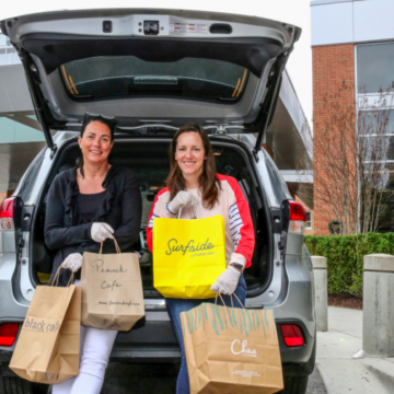 feed the fight's elena tompkins with car and food