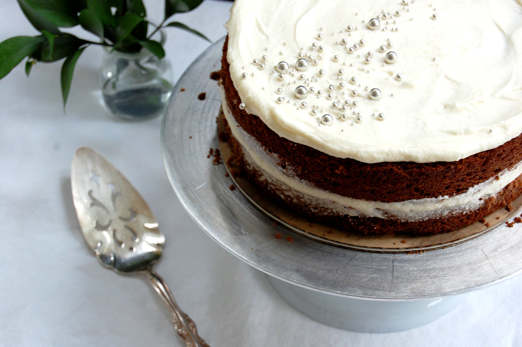 Not-Red Velvet Layer Cake