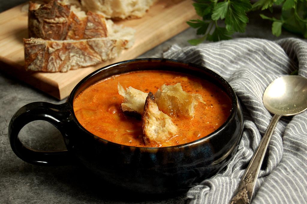 Easy Tomato Orzo Soup
