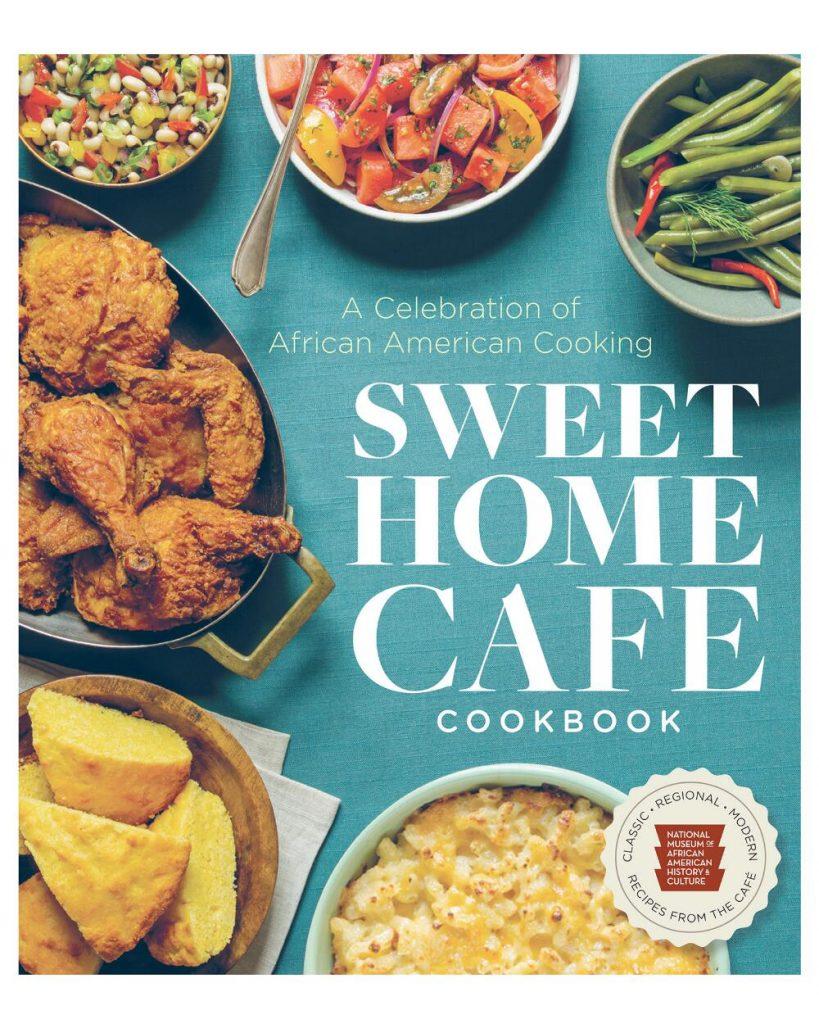 Sweet Home Café cookbook cover kale salad