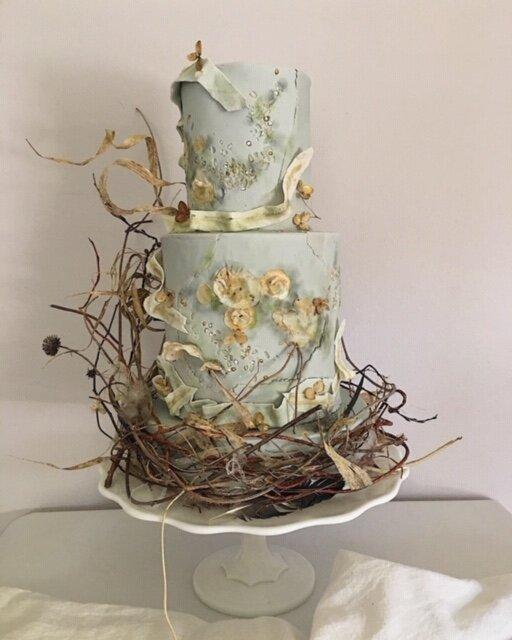 monica oconnell curtis & cake grief cake for Ahmaud Arbery