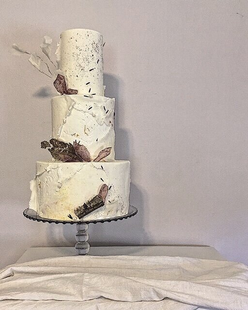 monica oconnell curtis & cake grief cake with birch for mom