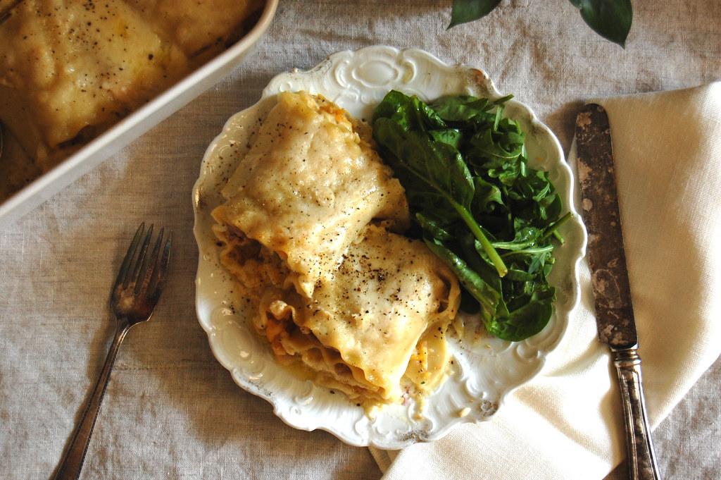 Sausage Butternut Squash Lasagna Recipe: Best Casseroles