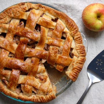 caramel apple pie butter crust