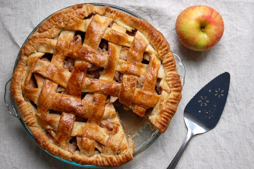 Caramel Apple Pie With All-Butter Crust