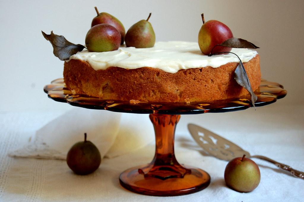 Fresh Pear Cake Recipe - Unpeeled Journal