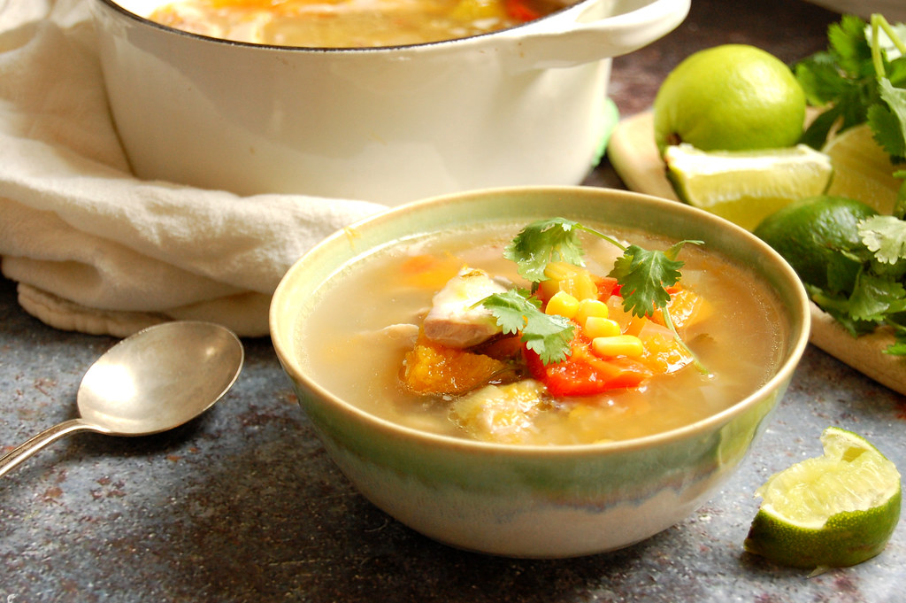 Venezuelan Chicken Vegetable Soup