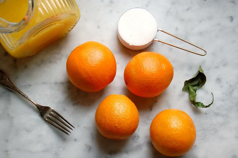orange granita ingredients sugar orange juice