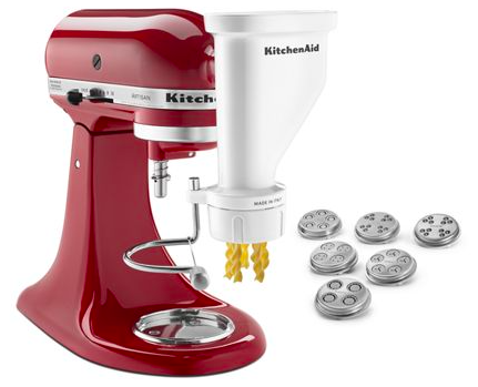 2020 Holiday Gift Guide for Cooking Enthusiasts and Foodies kitchenaid pasta
