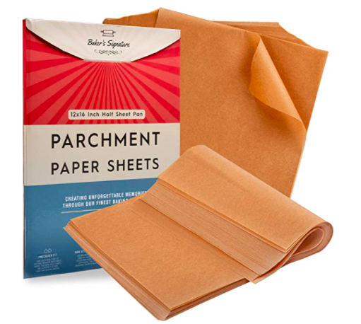2020 Holiday Gift Guide for Cooking Enthusiasts and Foodies parchment sheets
