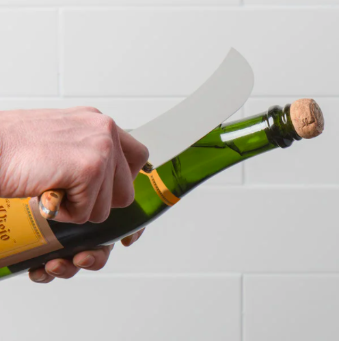 2020 Holiday Gift Guide for Cooking Enthusiasts and Foodies champagne saber