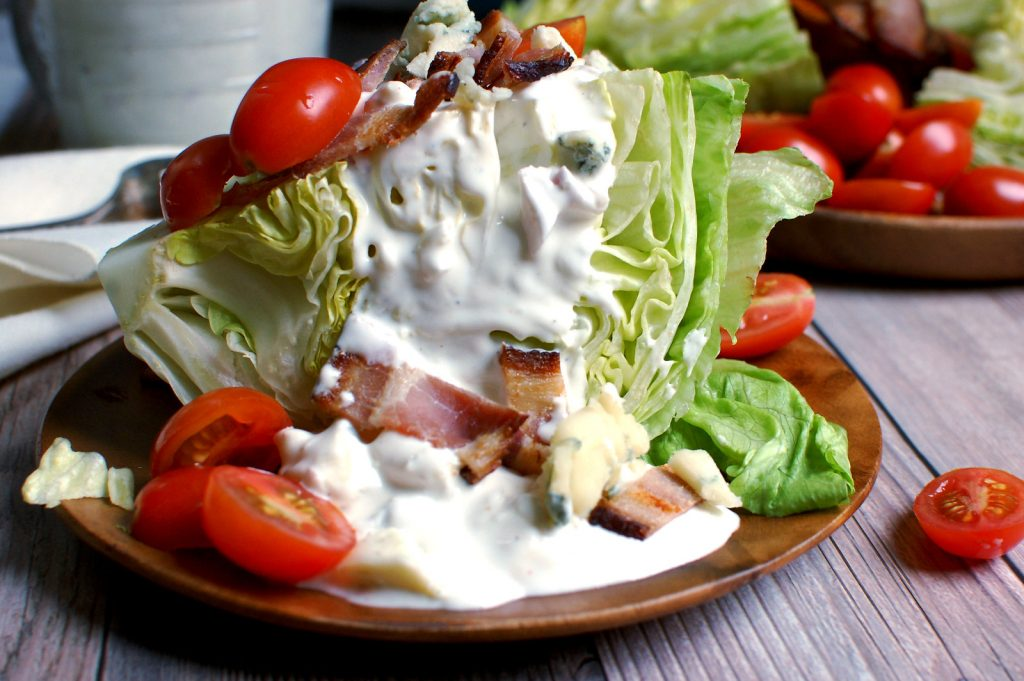 Classic Steakhouse Wedge Salad
