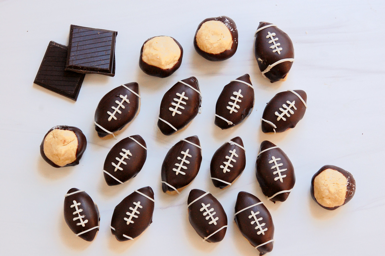 game day dessert super bowl dessert football buckeyes