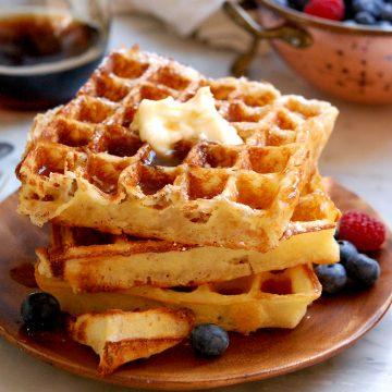 JFK's favorite waffles for presidents day recipes for breakfast