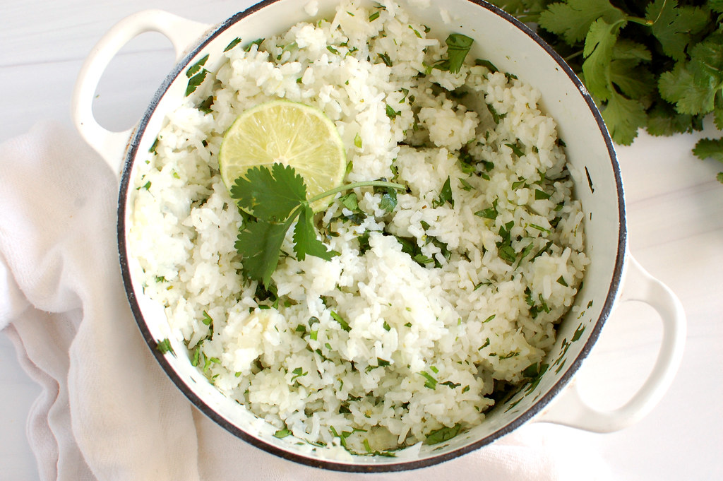 Mexican Cilantro Lime Rice