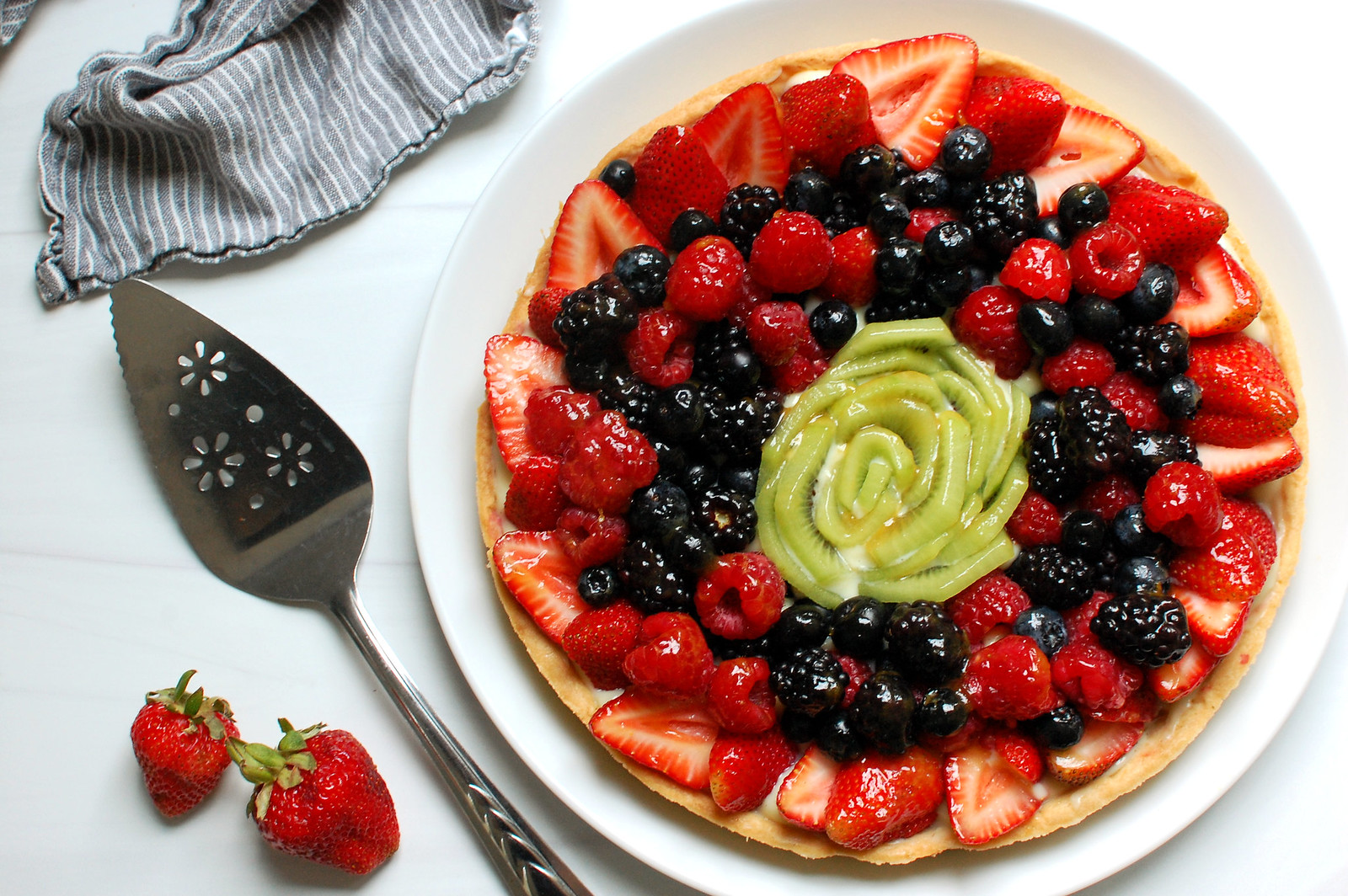 Classic French Fruit Tart Recipe With Pastry Cream - Unpeeled Journal Journal