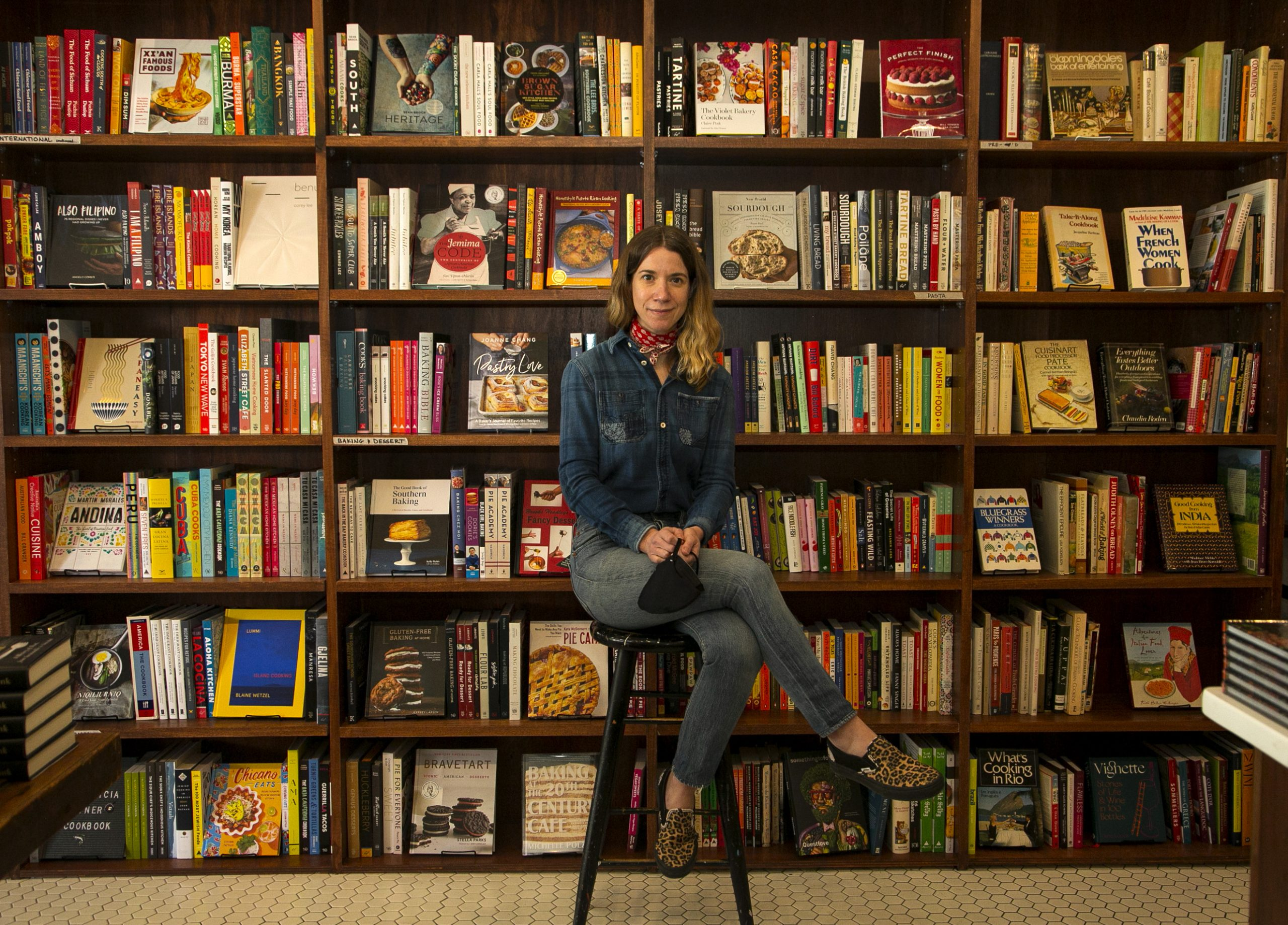 Cookbook shop owner Clementine Thomas of Bold Fork Books