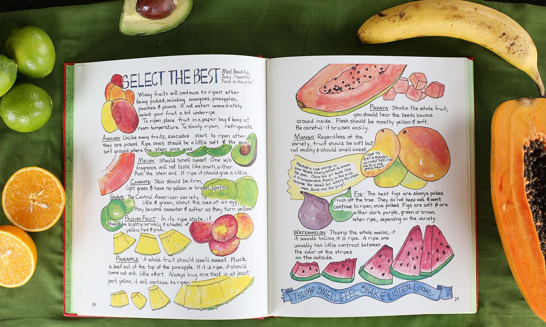 food artist Marcella Kriebel Mi Comida Latina cookbook