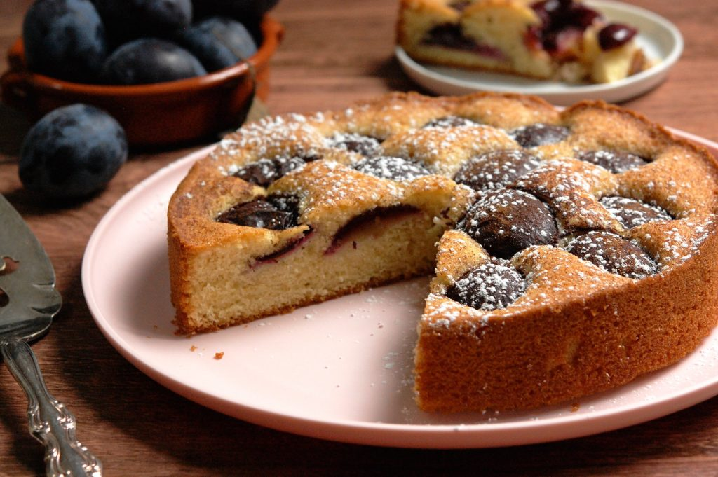 The Famous N.Y. Times Plum Cake (Torte)