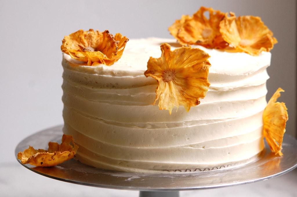 Hummingbird Cake Recipe - How to Make Pineapple Flowers