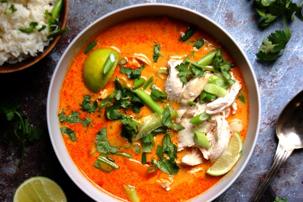 Thai-Style Red Curry Chicken