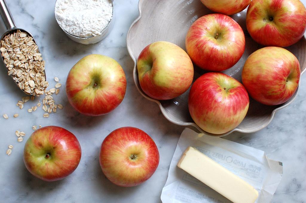 honeycrisp apples for apple oatmeal crisp