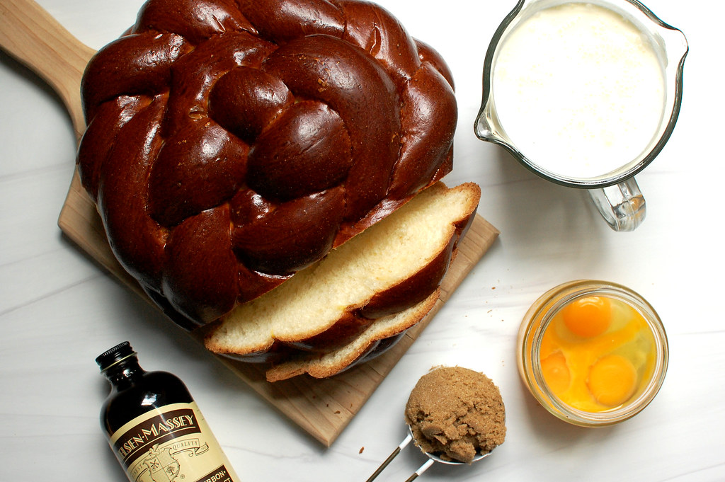 skillet Challah french toast ingredients